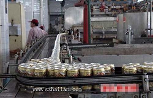 深圳某啤酒生产企业啤酒灌装生产线输瓶带的调速要求