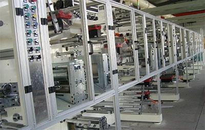 三菱伺服电机应用案例:华南某企业对其纸尿裤生产线升级改造