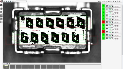 三菱机器视觉在药品行业标签字符的检测