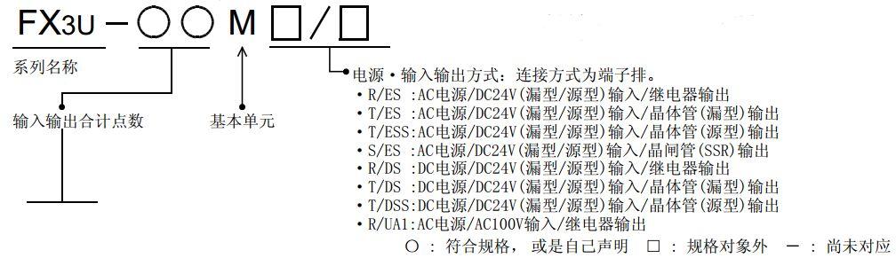 三菱fx3u系列plc输出接线方法
