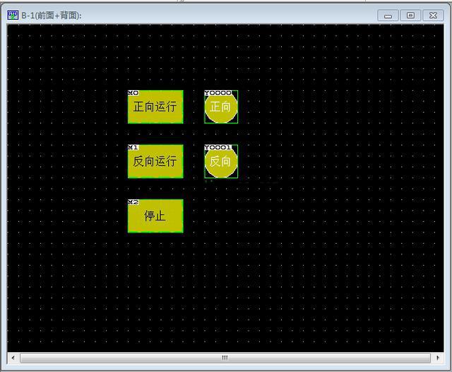 三菱PLC和触摸屏联合仿真