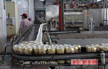 Shenzhen, a beer producer governor beer bottle filling production line with the requirements of transport