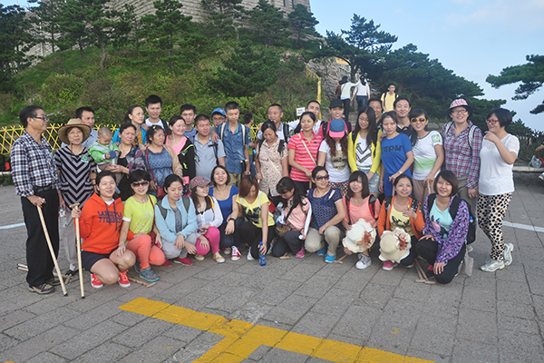 Sunny Team 2013 fall camp - Huangshan pure play day tour